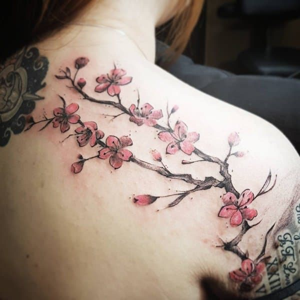 69 Gorgeous Cherry Blossom Tattoo Ideas For Your Next Ink
