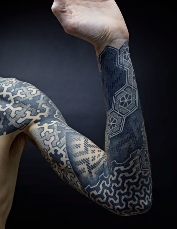Männer tribal tattoo arm 75 Schöne