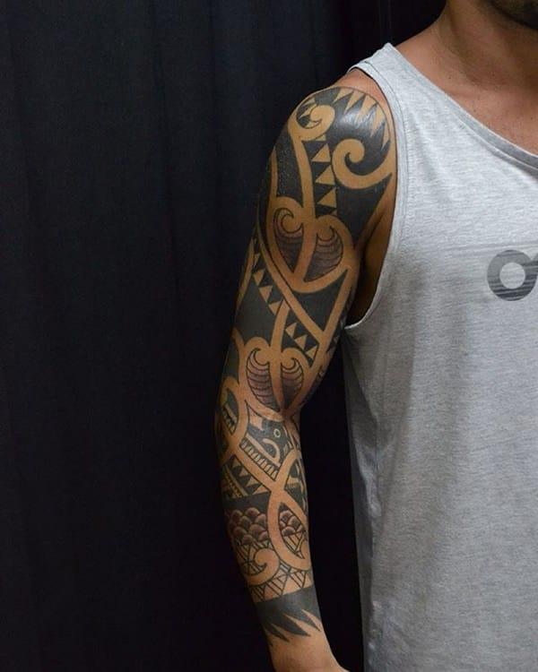 Tattoos unterarm tribal 100 Best
