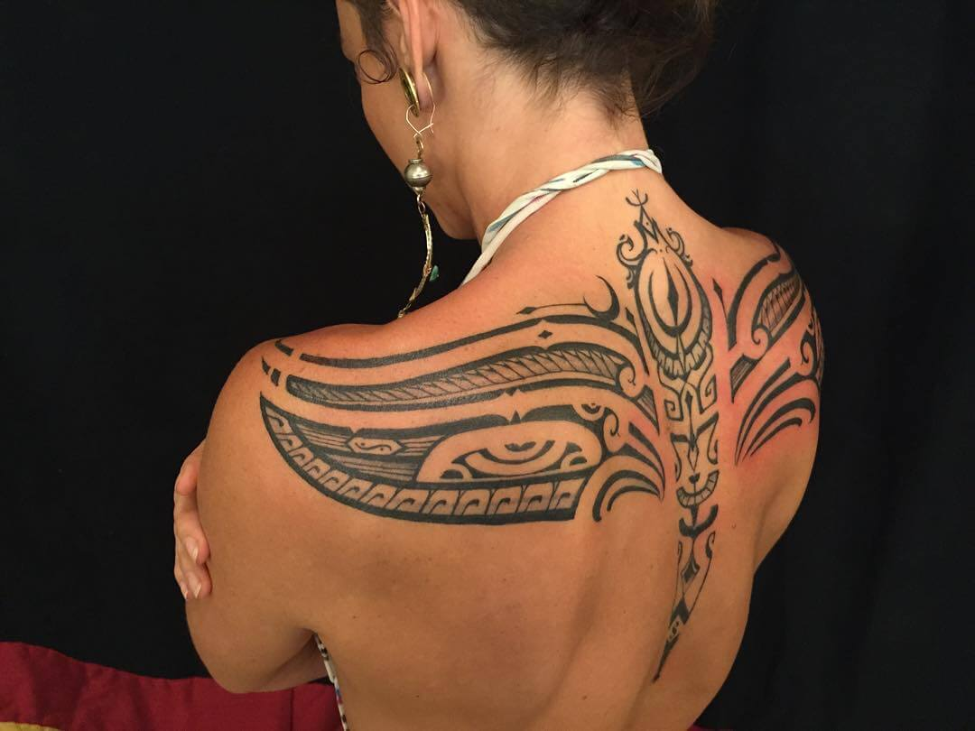 Tribal Tattoos for Women - Ideas and Designs for Girls