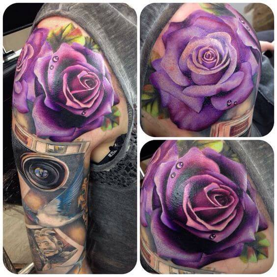 Rose Tattoos for Women - Ideas and Designs for Girls