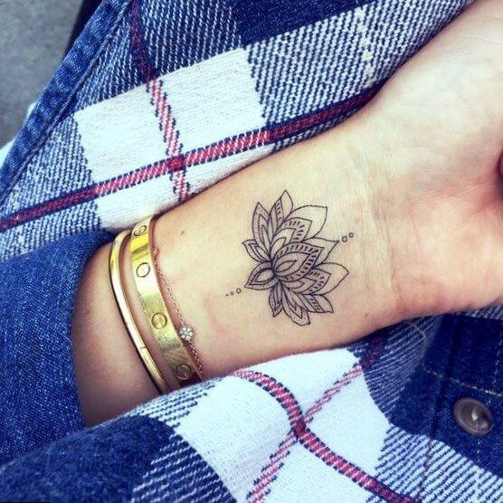 Wrist Tattoos for Women , Ideas and Designs for Girls
