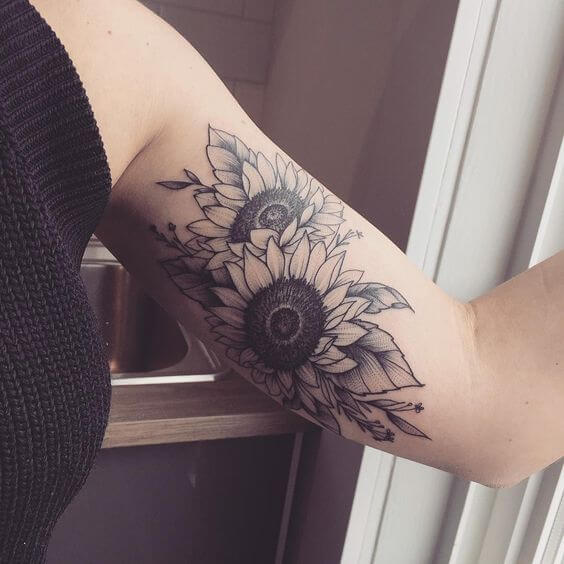 sunflower-tattoos-05