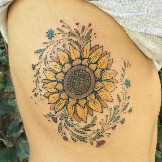 sunflower-tattoos-25