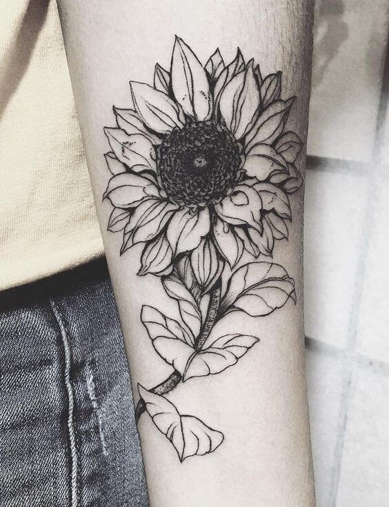 sunflower-tattoos-27