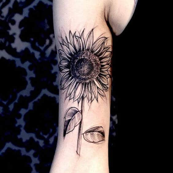 sunflower-tattoos-28