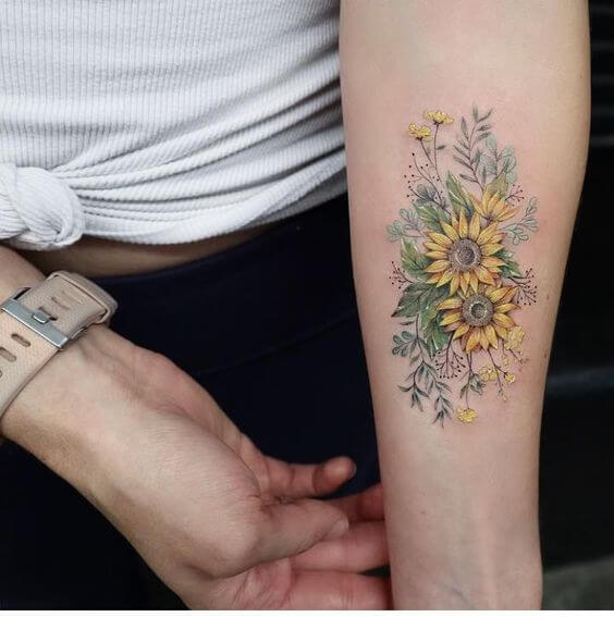 sunflower-tattoos-36