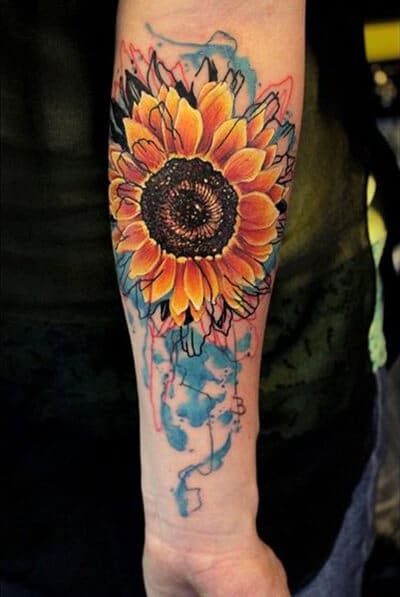sunflower-tattoos-37