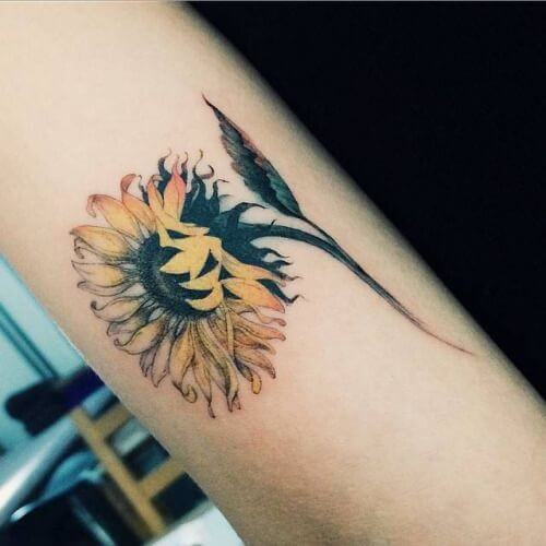 sunflower-tattoos-38