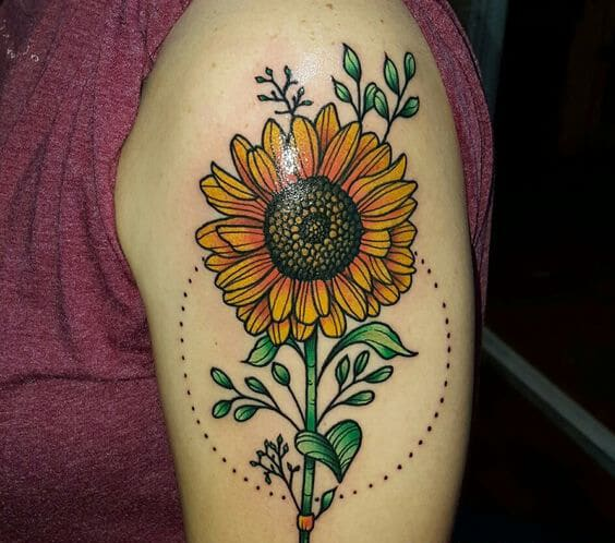 sunflower-tattoos-41