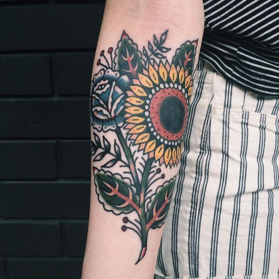 sunflower-tattoos-44